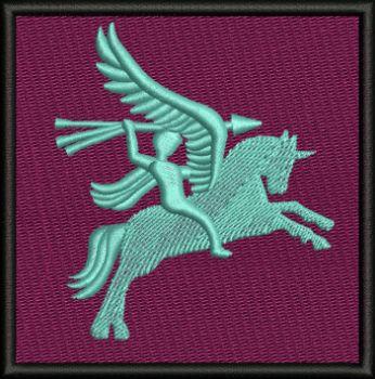 Pegasus Badge